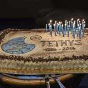 torta trentennale Tethys
